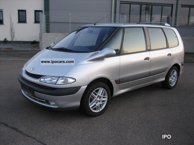 2001 renault 2 0 grand espace the race car photo and specs. Black Bedroom Furniture Sets. Home Design Ideas