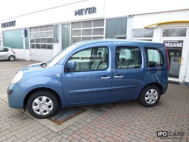Renault  Kangoo 1.6 16V 105 Happy Family \ 2012 Liquefied Petroleum Gas Cars (LPG, GPL, propane) photo