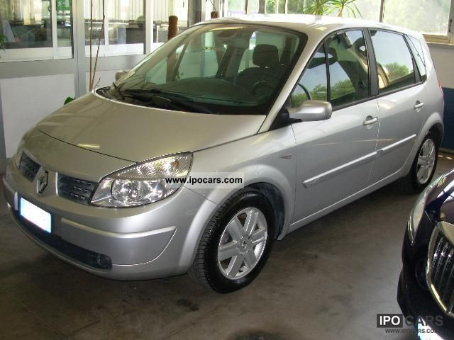2012 renault megane scenic deluxe 1 9tdci 130cv 2006 car photo and specs. Black Bedroom Furniture Sets. Home Design Ideas