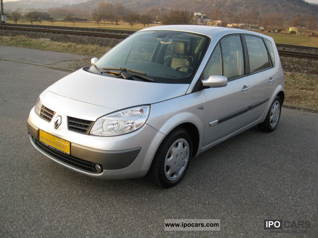 2006 renault scenic 1 6 16v exception car photo and specs. Black Bedroom Furniture Sets. Home Design Ideas