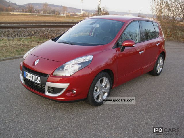 2011 renault scenic dci 130 dynamique car photo and specs. Black Bedroom Furniture Sets. Home Design Ideas