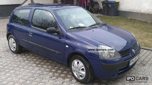 2004 renault clio 1 5 dci dynamique car photo and specs. Black Bedroom Furniture Sets. Home Design Ideas