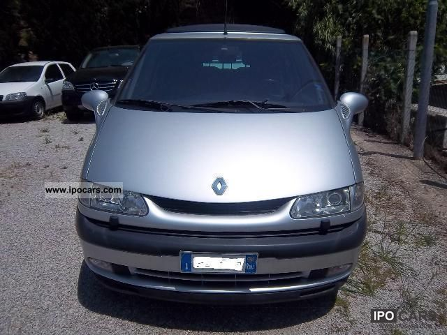 2002 renault grand espace 2 2 dci car photo and specs. Black Bedroom Furniture Sets. Home Design Ideas