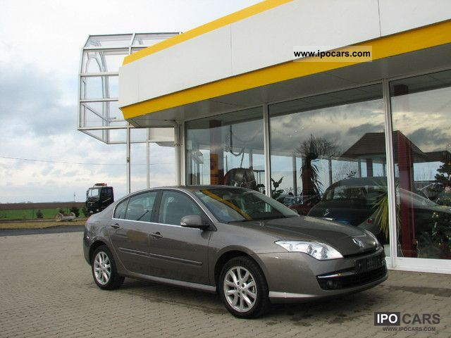 2007 Renault  Laguna 2.0 16V Dynamique rain sensor u.Teilleder Limousine Used vehicle photo
