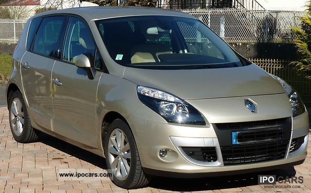 2010 renault scenic iii dci 130 fap privil ge car photo and specs. Black Bedroom Furniture Sets. Home Design Ideas