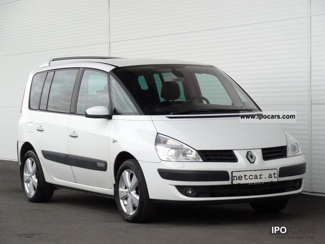 2007 renault espace 2 0 dci sport edition export car photo and specs. Black Bedroom Furniture Sets. Home Design Ideas