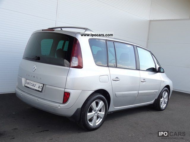 2007 renault espace 2 2 dci aut sport edition exports car photo and specs. Black Bedroom Furniture Sets. Home Design Ideas