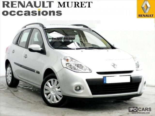 2010 renault clio iii estate dynamique dci 85 eco2 car photo and specs. Black Bedroom Furniture Sets. Home Design Ideas