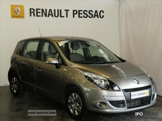 2011 renault scenic iii expression dci 110 fap euro 5 eco2 car photo and specs. Black Bedroom Furniture Sets. Home Design Ideas