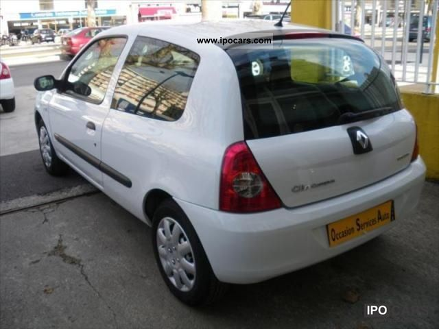 2007 renault evolution clio authentique 1 5 dci 65 pack 3p car photo and specs. Black Bedroom Furniture Sets. Home Design Ideas