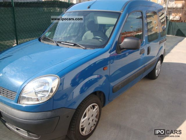 2004 renault ice kangoo 1 5 dci 70 car photo and specs. Black Bedroom Furniture Sets. Home Design Ideas