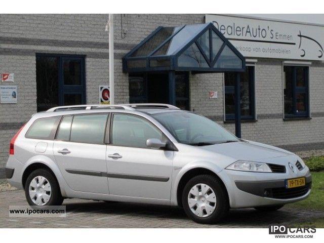 2007 Renault  Mégane 1.6 16V ECC / CRUISE / PANO-DAK / PDC Estate Car Used vehicle photo