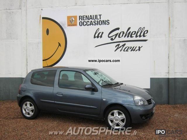 2007 Renault  Clio 1.4 16v Campus Sport Way 3p Limousine Used vehicle photo