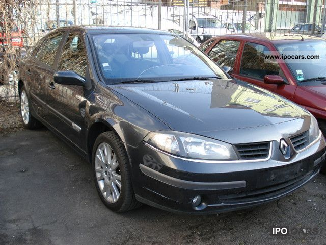 2006 renault laguna 1 9 dci car photo and specs. Black Bedroom Furniture Sets. Home Design Ideas