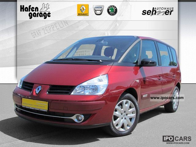 2009 renault espace 2 0 dci fap navitech car photo and specs. Black Bedroom Furniture Sets. Home Design Ideas