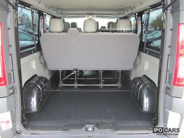 2009 renault trafic 2 0 dci 115 combi l2h1 car photo and. Black Bedroom Furniture Sets. Home Design Ideas