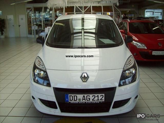 2011 renault scenic authentique 1 6 16v 110 car photo and specs. Black Bedroom Furniture Sets. Home Design Ideas