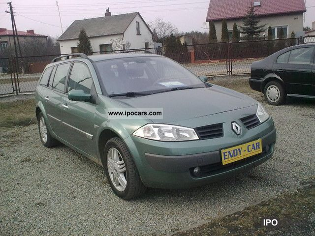 2004 Renault  1,9 DCI LUXE privilage Estate Car Used vehicle photo