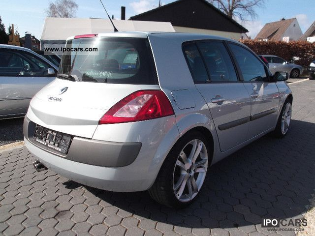 2003 renault megane ii sport tourer 1 9 dci related infomation specifications weili automotive. Black Bedroom Furniture Sets. Home Design Ideas