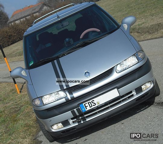 Renault  Grand Espace 2.0 16V RXE theRACE 7 seats 2001 Race Cars photo