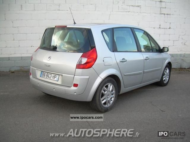 2009 renault scenic 1 9 dci130 exception car photo and specs. Black Bedroom Furniture Sets. Home Design Ideas