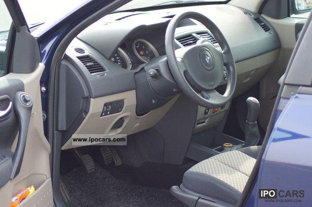 Renault Megane 2003 Interior 2003 Renault Megane 1 6 16v