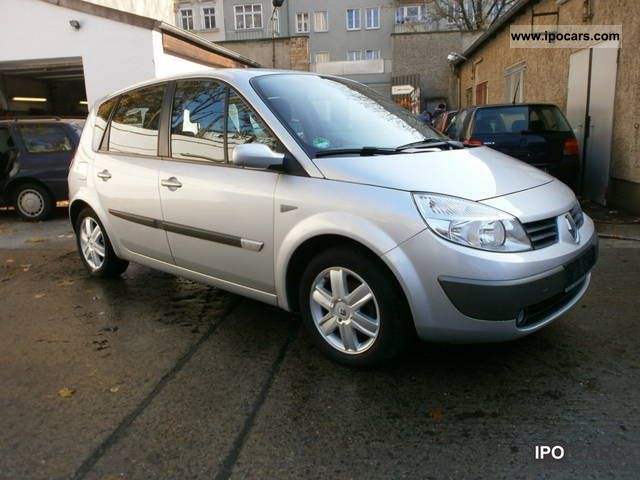 2006 renault scenic 1 6 16v authentique car photo and specs. Black Bedroom Furniture Sets. Home Design Ideas