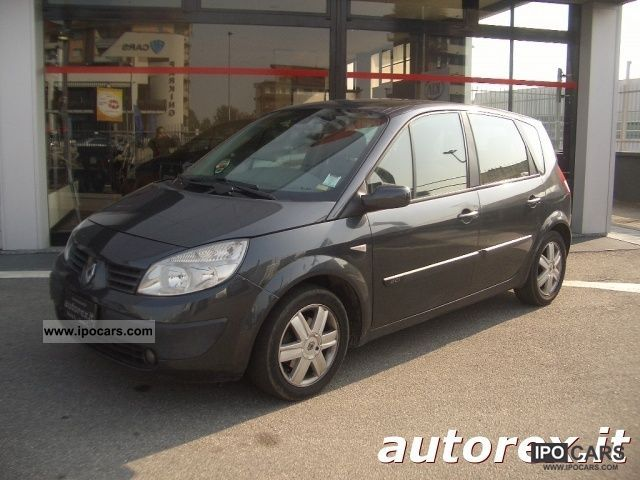 2006 renault grand scenic ii 1 5 dci related infomation specifications weili automotive network. Black Bedroom Furniture Sets. Home Design Ideas