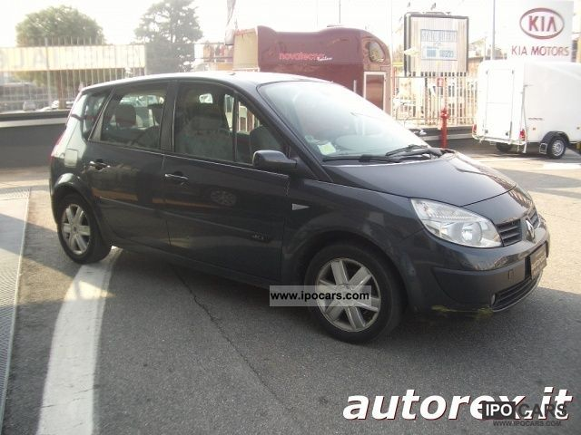 2006 renault scenic 1 5 dci 105cv plein air car photo and specs. Black Bedroom Furniture Sets. Home Design Ideas
