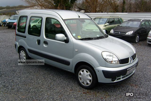 2006 renault kangoo 1 5 dci authentique car photo and specs. Black Bedroom Furniture Sets. Home Design Ideas