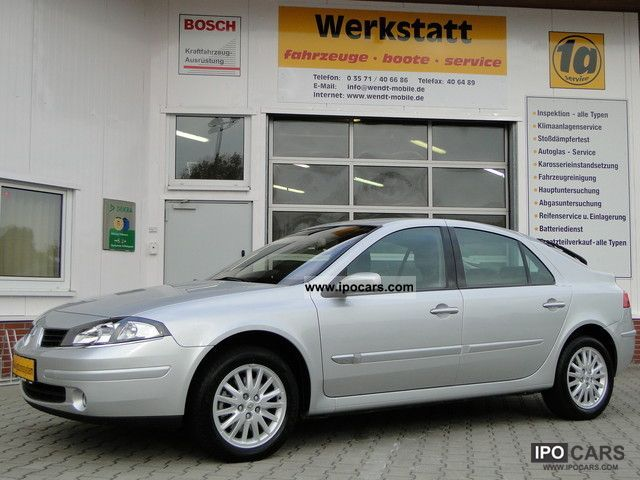 2007 Renault  Laguna exception with Navi and parking aid Limousine Used vehicle photo