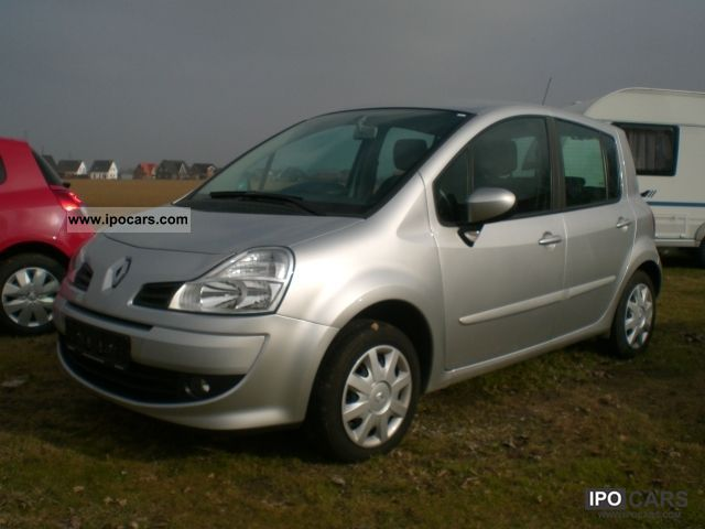 2008 renault modus 1 2 dynamique 16v car photo and specs. Black Bedroom Furniture Sets. Home Design Ideas