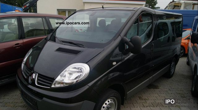 2009 renault trafic 2 0 dci 115 combi l1h1 car photo and. Black Bedroom Furniture Sets. Home Design Ideas