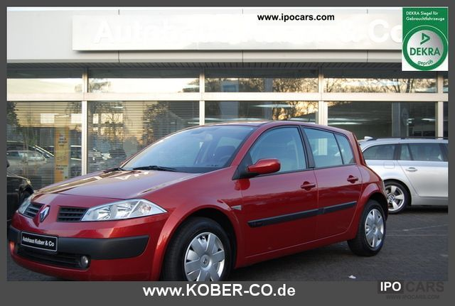 2003 renault megane ii sport sedan 1 6 16v related infomation specifications weili automotive. Black Bedroom Furniture Sets. Home Design Ideas