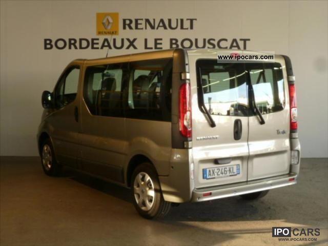 2010 Renault Trafic Passenger L1h1 1000 Kg