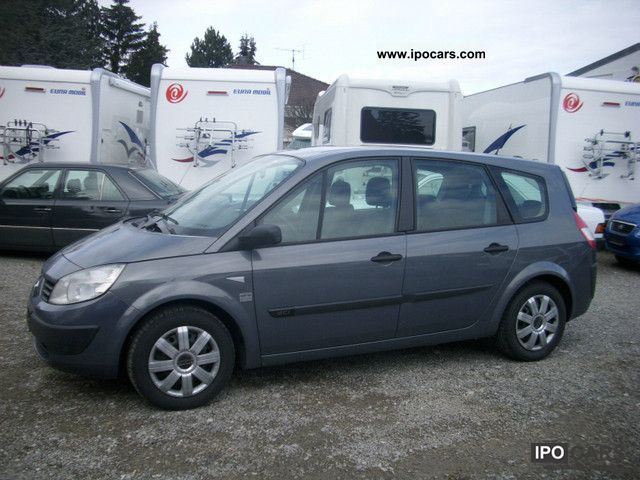 2006 renault scenic 1 5 dci car photo and specs. Black Bedroom Furniture Sets. Home Design Ideas