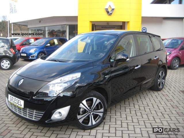 2011 renault grand scenic dci 130 fap bose edition 7 seater car photo and specs. Black Bedroom Furniture Sets. Home Design Ideas