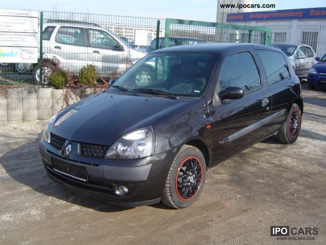 2001 renault clio 1 4 16v sport air car photo and specs. Black Bedroom Furniture Sets. Home Design Ideas