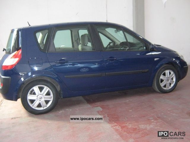2006 renault scenic 1 9 dynamique dci 130cv car photo and specs. Black Bedroom Furniture Sets. Home Design Ideas