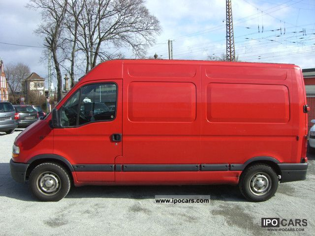 1998 renault master l2h2 2 5 d car photo and specs. Black Bedroom Furniture Sets. Home Design Ideas