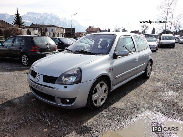 2001 Renault Clio 2.0 16V Sport Small Car Used vehicle photo
