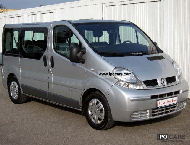 2005 renault trafic 1 9 dci expression generation car photo and specs. Black Bedroom Furniture Sets. Home Design Ideas