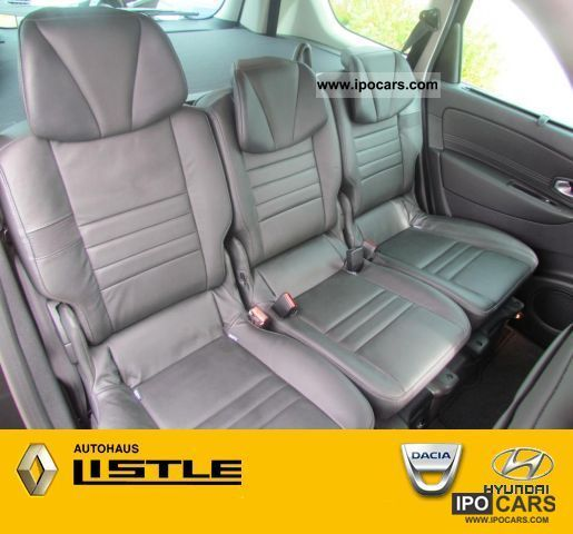 2011 renault grand scenic 2 0 dci dynamique 7 seat leather car photo and specs. Black Bedroom Furniture Sets. Home Design Ideas