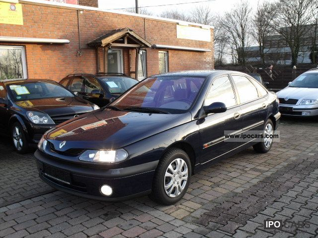 1999 Renault  Laguna 2.0 * automatic, air conditioning, towbar, well maintained * Limousine Used vehicle photo