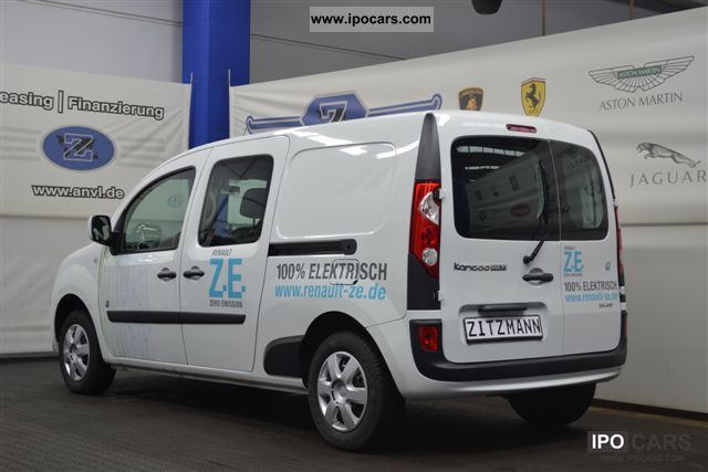 Renault  Kangoo Pm Maxi 5-seat electric vehicle 2012 Electric Cars photo