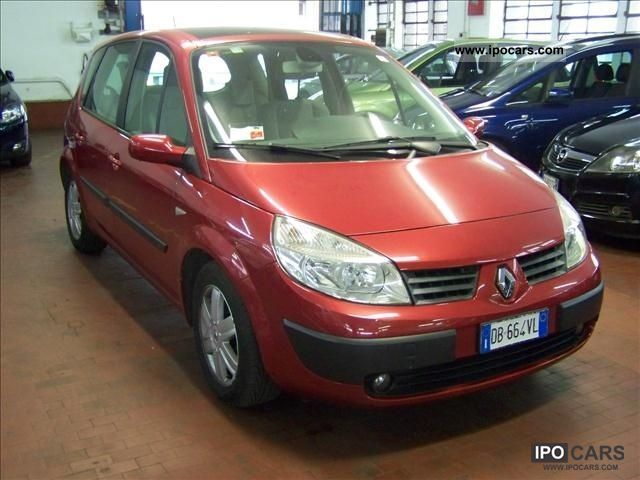 2006 renault 1900 scenic dci 130 cv dinamique plenair car photo and specs. Black Bedroom Furniture Sets. Home Design Ideas