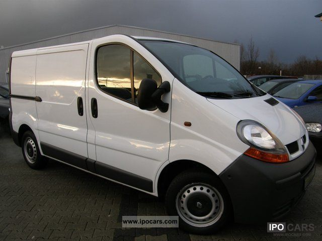 2006 renault trafic 1 9 dci van good condition car photo and specs. Black Bedroom Furniture Sets. Home Design Ideas