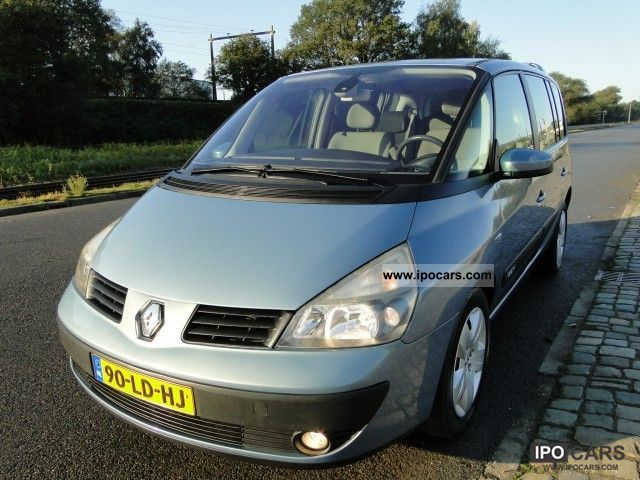 2002 renault espace authentique 2 0 turbo s2005 car photo and specs. Black Bedroom Furniture Sets. Home Design Ideas
