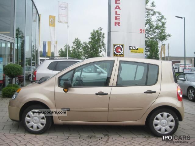 2005 renault modus 1 4 dynamique 16v luxe car photo and specs. Black Bedroom Furniture Sets. Home Design Ideas