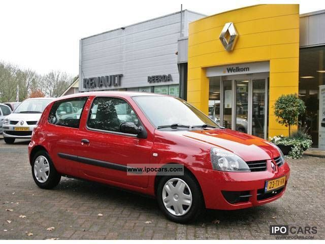 2007 renault clio campus 1 2 8v 60 acces car photo and specs. Black Bedroom Furniture Sets. Home Design Ideas